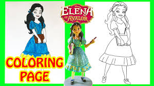 elena of avalor princess isabel disney coloring page crayola blind