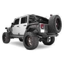 2011 jeep wrangler fender flares fab fours jk1005 1 black rear fender flares