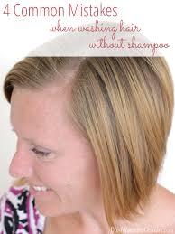 coke hair rinse common mistakes when washing hair without shoo
