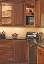 Best TwoTone Kitchens Images On Pinterest Pictures Of - Medium brown kitchen cabinets