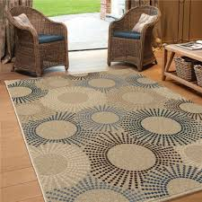 Outdoor Carpet Rugs 1833 5x8 Orian Rugs 1833 5x8 Indoor Outdoor Circles Of Light