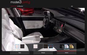 fan made tesla model 3 design studio lets you design the car