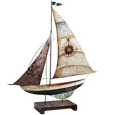 home decor from pier 1 imports capiz u0026 metal sailboat gives an