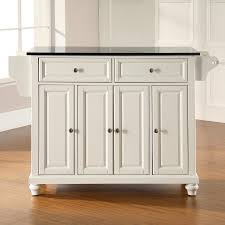 kitchen islands lowes shop crosley furniture white craftsman kitchen island at lowes