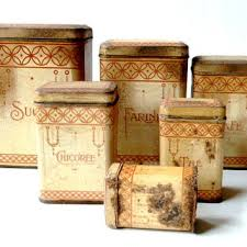 antique kitchen canister sets shop antique kitchen canisters on wanelo