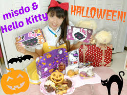 misdo u0026 hello kitty halloween 2015 mister donut towel and pon de