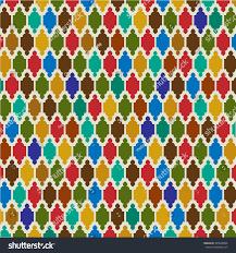Morrocan Design Interlocking Moroccan Pattern Stock Vector 405598096 Shutterstock