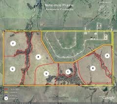 Lincoln Ne Map Nine Mile Prairie Off Campus Field Sites Of Natural