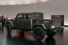 jeep wrangler pickup concept automotiveblogz jeep wrangler crew chief concept