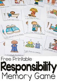 responsibility for preschoolers interactive book u0026 game memory