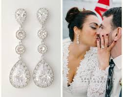 drop bridal earrings wedding earrings for your special day bingefashion