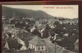 Ak Ansichtskarte Friedrichroda Blick Vom Herzogsweg Friedrichroda Blick Nach Dem Absberg Friedrichroda Nr Dd28035