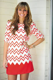 17 best chevron dresses red and white images on pinterest