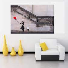 Livingroom Wall Art Banksy Wall Art Promotion Shop For Promotional Banksy Wall Art On