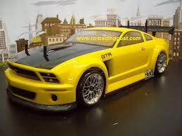 ford mustang gtr clear rc ford mustang gt r 200mm clear rc car shell by