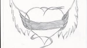 heart drawings in pencil drawing pencil