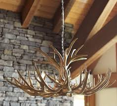 Antler Chandeliers For Sale Pottery Barn Faux Antler Chandelier 1 000 Bachelor Gulch