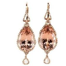 Rose Gold Chandelier Earrings 6mm Cultured Pearl Stud Earrings With Diamond Accents In Sterling