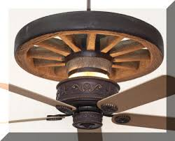 wagon wheel ceiling fan light rustic lighting and fans ceiling fan ceilings and westerns
