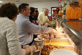 a helping of community la vergne middle thanksgiving meal
