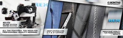 Machine Blind Stitch Amazon Com Rex Rx 518 All Metal Construction Portable