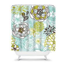 Green And Brown Shower Curtains Best Brown Shower Curtains With Flowers Products On Wanelo