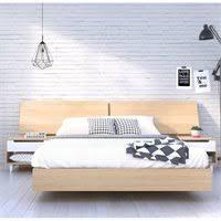 full platform bed in maple 345405