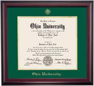 degree frames home office diploma frames ohio alumni association store