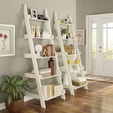 Diy Leaning Ladder Bathroom Shelf by Best 25 White Ladder Shelf Ideas On Pinterest White Bathroom