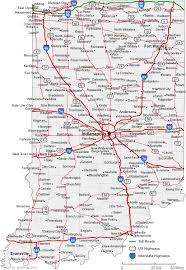 cities map map of indiana cities indiana road map
