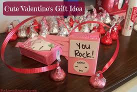 valentines presents for you rock easy gift idea