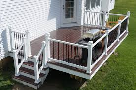 cute backyard deck in lancaster pa stump u0027s decks u0026 patio contractor