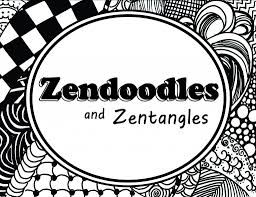 how to create a great zendoodle or zentangle pattern feltmagnet