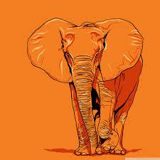 apple wallpaper elephant elephant vector art 4k hd desktop wallpaper for 4k ultra hd tv