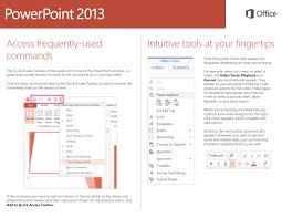 office 2013 powerpoint quick start guide u2013 birdville isd help desk