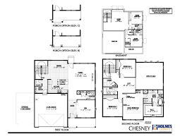 A Floor Plan by Chesney A Holmes Homes