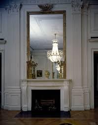 kn c21636 east room fireplace white house john f kennedy