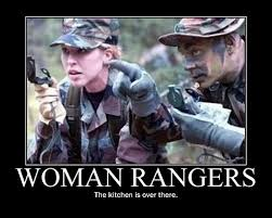 Ranger School Meme - first women to pass ranger school were given extra training and