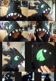 Toothless Dragon Halloween Costume Httyd Toothless Hoodie Hchughes Deviantart Diy Crafts