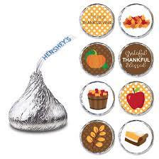 thanksgiving labels thanksgiving label for hershey s kisses chocolates candy stickers