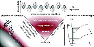 surface enhanced raman spectroscopy and microfluidic platforms
