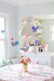 diy butterfly decor lay baby lay
