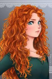 illustrator turns disney princesses anime characters