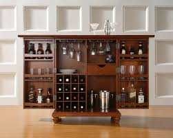 wine cabinets for home furniture rectangle brown wooden bar cabinet with glass wine racks