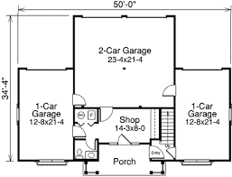 apartment garage floor plans four car apartment garage with shop 57113ha architectural