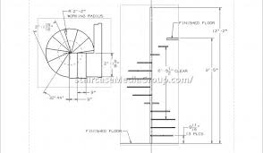 Model Staircase Phenomenal Spiral Staircase Plans Picture Concept