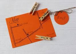 Map Wedding Invitations Pocketfold Simple Script Wedding Invitations Be My Guest