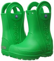 crocs kadee crocs unisex kids u0027 handle rain boots girls u0027 shoes