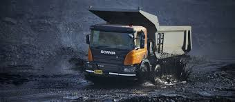 scania launches new mining tipper truck in india scania group