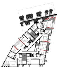 gallery of red apple apartment building aedes studio 29